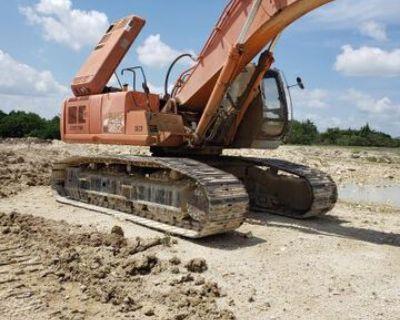 1998 Hitachi EX450LC-5 Track Excavator
