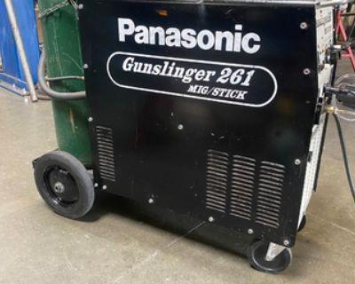 Panasonic gunslinger mig welder