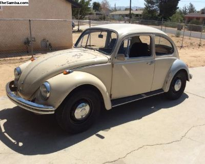 1969 bug. Very solid car