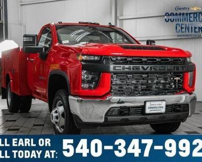 2021 CHEVROLET SILVERADO 3500HD CC Service, Mechanics, Utility Trucks Truck