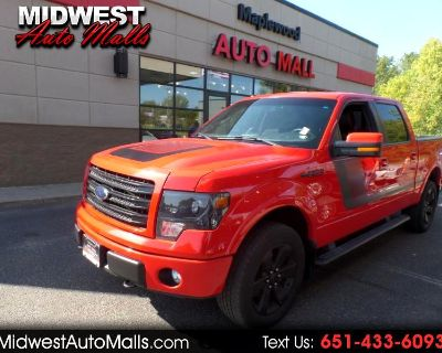 2014 Ford F-150 FX4 SuperCrew 5.5-ft. Bed 4WD