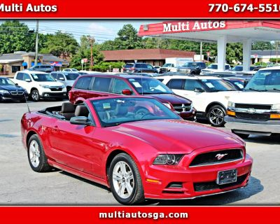 Used 2013 Ford Mustang V6 Convertible