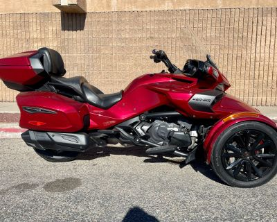 2018 Can-Am Spyder F3 Limited 3 Wheel Motorcycle Albuquerque, NM