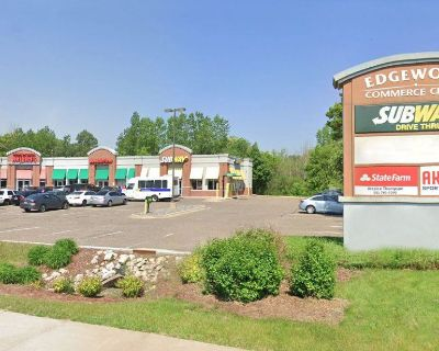 End-cap w/Drive-thru for Lease: 2,483 SF - Along Cnty Hwy 10/Mounds View Blvd