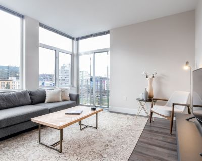 Airy South Lake Union 1BR w/ Gym, Pool, Rooftop nr. I5 by Blueground - South Lake Union