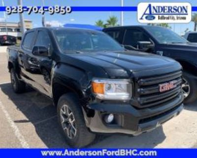 2018 GMC Canyon All Terrain with Cloth Crew Cab Short Box 4WD