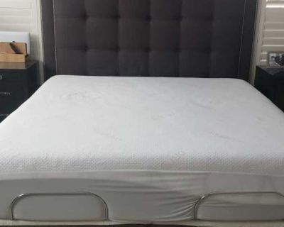 QUEEN Sealy Posturpedic Luxury Plus Euro Pillowtop Mattress Only - Like New