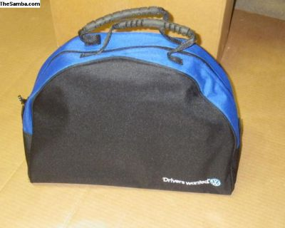VW Detail Bag Drivers Wanted NOS Car Cleaning Kit