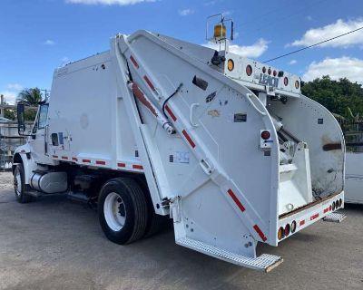 2012 International 4300 DuraStar Leach Rear Loader Garbage Truck