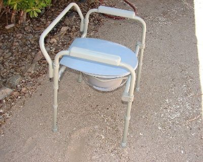 Bedside Commode Shower Chair