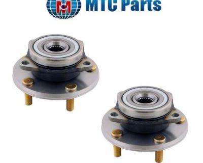 2-pcs Front Wheel Hub Assembly Mtc Mr103664 Fits Mitsubishi Dodge Chrysler Eagle