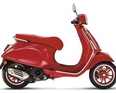 2021 Vespa Primavera 150 iGet Red Scooter Greensboro, NC