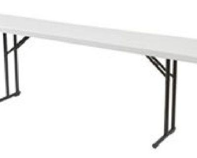 Plastic Folding Tables - Larry Hoffman Chair