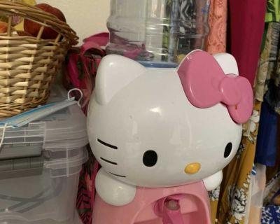 Hello kitty kids water dispenser