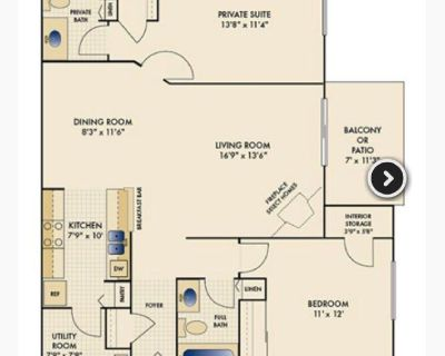 Indianapolis Southside - Separate Bed and Private Bath available