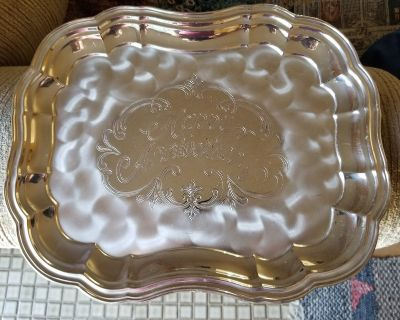 Silver plated Anniversary Plate