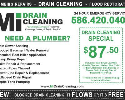 Sewer & Drain Cleaning - Plumbing Repairs Emergency Service