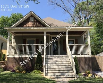 GORGEOUS 3/3 in Atlanta's Historic West End $2,300!!!