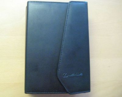 2007 Lexus Es 350 Owners Manual With Oem Books And Leather Binder