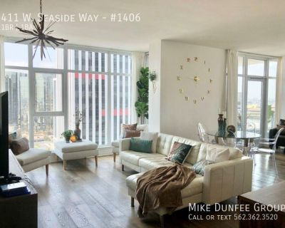 Downtown Long Beach One-Bedroom Modern Style Condo