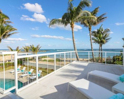 **Oceanfront 75 feet Beautiful Beach Home with Private Pool & Gorgeous Views** - Pompano Beach