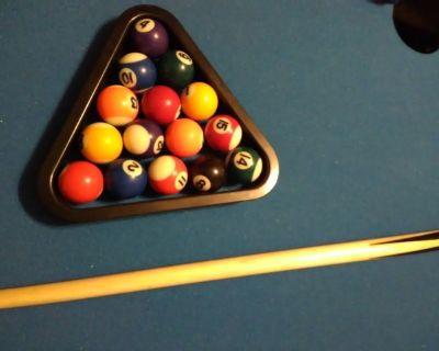Three in one, combo pool table, hockey and foosball