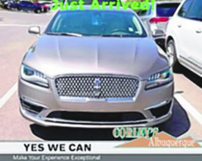 LINCOLN 2018 MKZ Reserve Sedan, Automatic, Front Wheel Drive, 6 Speed, 31k miles,...