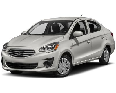 Pre-Owned 2017 Mitsubishi Mirage G4 ES FWD 4dr Car