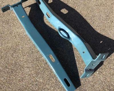 Rear bumper brackets