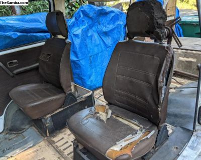 Leather seats from 1981 VW Vanagon