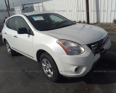 Salvage White 2012 Nissan Rogue