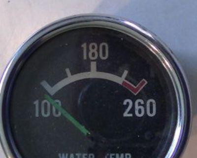 Vintage Water Temp Gauge Unknow Make 260