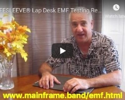 IMPORTANT EMF Radiation Information for Lap Top Computer Users
