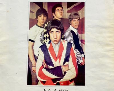 "THE WHO - ""The Kids Are Alright"" Insert Booklet"