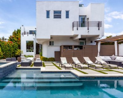 Upscale McMansion with Movie Theater., Los Angeles, CA