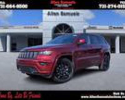 2021 Jeep grand cherokee Red, 11 miles