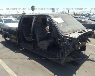 Salvage Black 2006 Chevrolet Silverado 1500hd