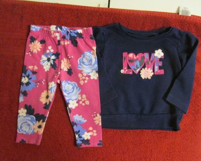 Just One You 6 mos. two piece set