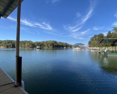 Lake Hartwell cottage & dock near Clemson - Townville