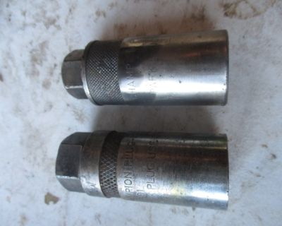 Champion 3/8 drive Spark plug mate sockets