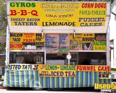 Wells Cargo 9' x 16' Kitchen Food Concession Trailer in Great Shape