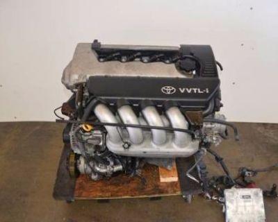 03 04 Toyota Corolla S Matrix Xrs Pontiac Vibe Gt 1.8l Vvtl-i Engine Jdm 2zz-ge