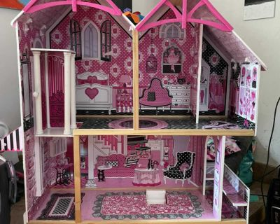 Barbie/Doll house and furniture