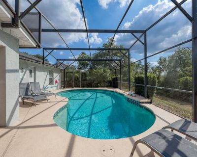 Home with a private pool and location close to Disney World - snowbirds welcome! - Greater Groves