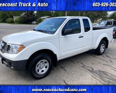 Used 2018 Nissan Frontier S King Cab I4 5MT 2WD