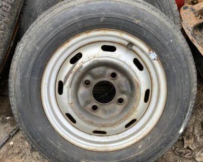Continental German original spare tire 4 lug wheel
