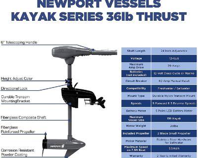 NewPort Vessels Trolling Motor Battery Mount Kit Inflatable Boat Intex