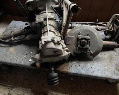 Porsche 356 C 741/C Transmission