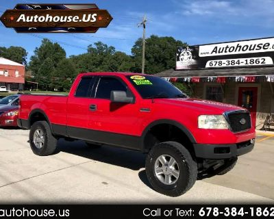 2004 Ford F-150 Lariat SuperCab 6.5-ft. Bed 2WD