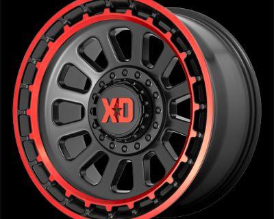 XD Omega Wheel 17x9 6x135/139.7 +18mm offset
